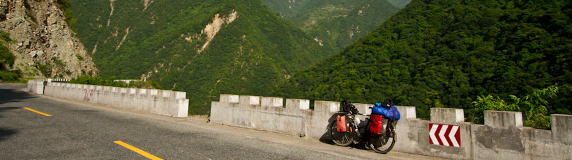Resting in the Qingling ranges